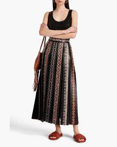 Silk Contrast-Trim Shirt
