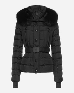 Beverley hooded quilted nylon down jacket