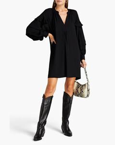 Green jersey shorts