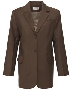 Tropical Wool Blend Blazer