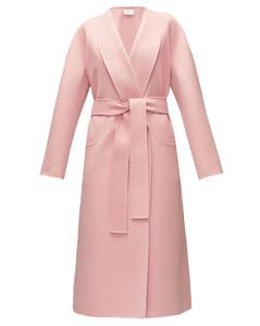 Celete belted cashmere coat