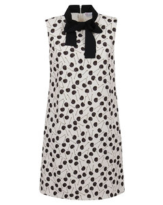 Brynlee collar-trimmed cable-knit wool-blend tank