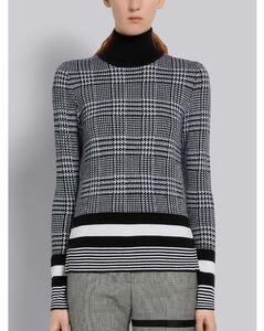 羊毛高领衫
