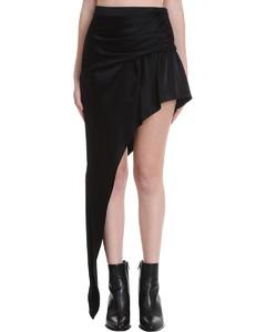 Skirt In Black Silk