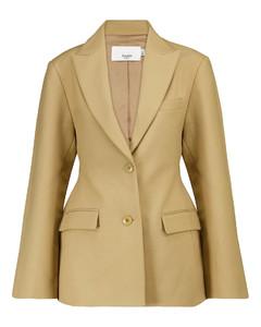 Hourglass棉质西装式外套