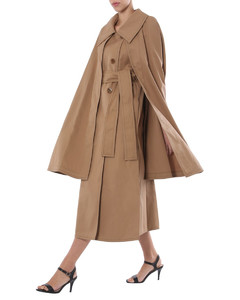 TRENCH WITH CAPE