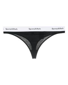 logo T恤式連衣裙