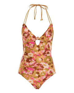 Viotti cropped mohair-blend jumper