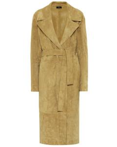 June suede coat