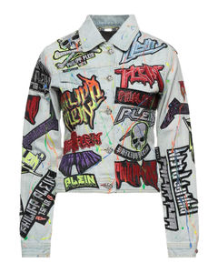 Mestizo funnel-neck leather-shearling jacket