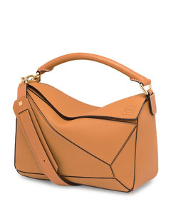 Leather Puzzle Bag