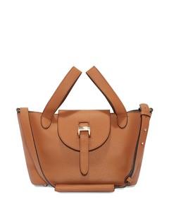 Thela Mini Cross Body Bag- Tan