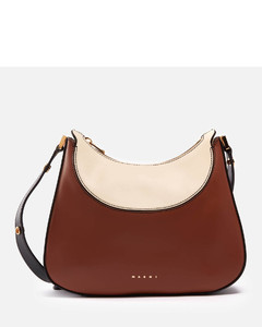 Garavani - Gold Tone Rockstud Small Leather Cross Body Bag