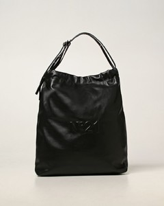 Eva bag N°21 in leather with logo