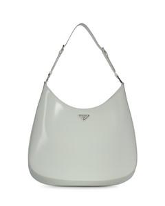 Cleo Maxi shoulder bag in brushed leather