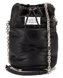 Glam Slam Bucket Bag in Black