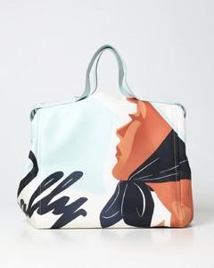Virtus quilted nappa leather shoulder bag
