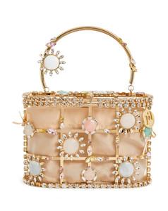 Embellished Holli Milkshake Top-Handle Bag