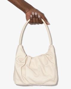 cream Felix leather shoulder bag