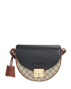 Padlock small shoulder bag