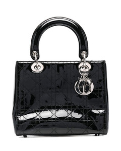 X Disney X Keith Haring leather top handle bag