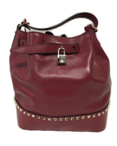 Undercover leather camera bag