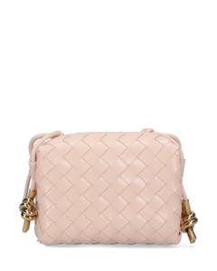 Sidonie Leather Belt-Bag- Black/Pink