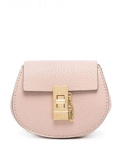 Drew Mini Leather Backpack