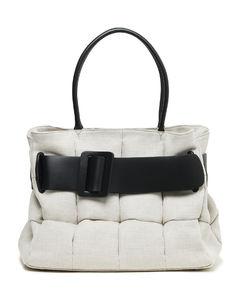 Bobby Co MatelasséCanvas handbag
