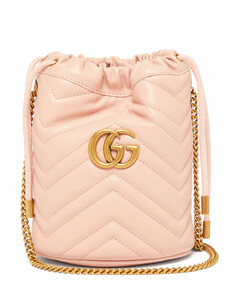 GG Marmont leather bucket bag