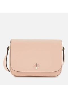 New York Women's Nicola Small Flap Shoulder Bag - Flapper Pink