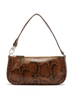 Rachel snake-effect leather shoulder bag