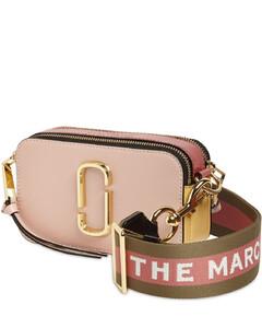 Snapshot Leather Shoulder Bag