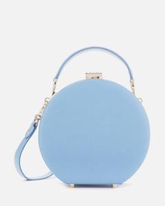 Women's Hat Box - Mini (Slim Strap) - Bluebird