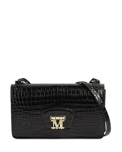 Marlenc Croc Embossed Leather Bag