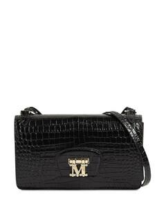 Marlenc Croc Embossed Leather Bag