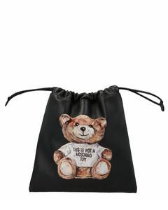 Teddy Printed Drawstring Crossbody Bag
