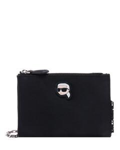 Pizza leather crossbody purse