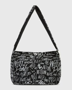 All-over Logo Cotton Cross Bag