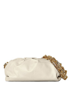 The Pouch Chain Bag in White