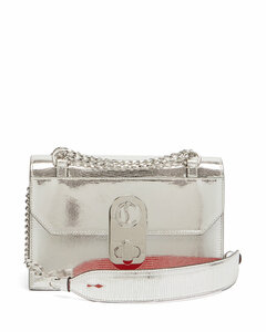 Elisa mini leather cross-body bag