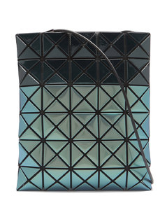 Platinum Mermaid PVC crossbody bag