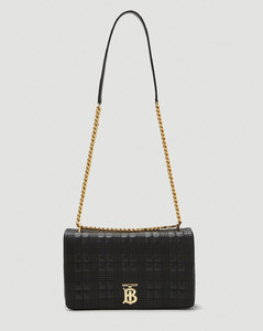 Lola Medium Shoulder Bag in Black