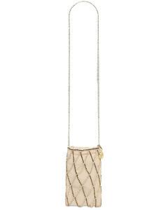 Small Greta Shoulder Bag W/crystal Strap