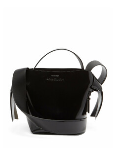 Musubi mini leather cross-body bag
