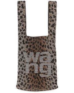Mini Wangloc Embellished Shopper Bag
