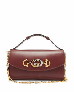 Zumi mini leather cross-body bag