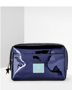 Makeup Bag Reflective Blue
