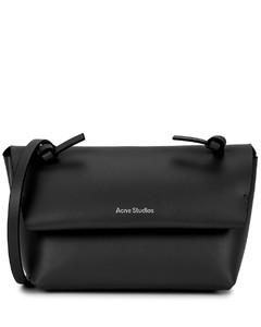 Alexandria black leather cross-body bag