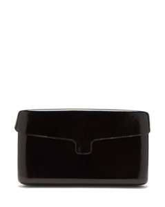 Cartridge medium leather clutch